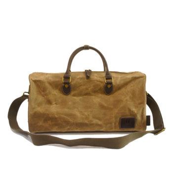 Waxed Canvas Traveller Bag