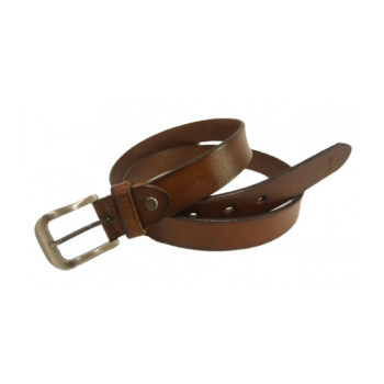 Leather Casual Belt (1.2 inches wide)